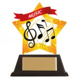 Mini Star Music Award 10CM 100MM - AC19679A
