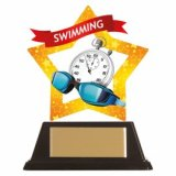 Mini-Star Acrylic Swimming Award 10CM (100MM) - AC19693A