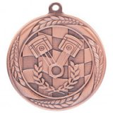 Typhoon Motorsport  Stamped Iron Medal Bronze 5.5CM 55MM - MM20445B