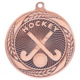 Typhoon Hockey Stamped Iron Medal Bronze 5.5CM 55MM - MM20447B