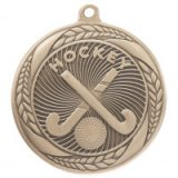 Typhoon Hockey Stamped Iron Medal Gold  5.5CM 55MM - MM20447G