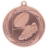 Typhoon Rugby Stamped Iron Medal Bronze 5.5CM 55MM - MM20449B