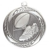 Typhoon Rugby Stamped Iron Medal Silver 5.5CM 55MM - MM20449S
