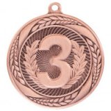 Typhoon 3rd Place Stamped Iron Medal Bronze 5.5CM 55MM - MM20452B