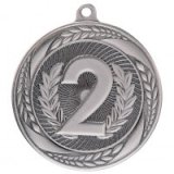 Typhoon 2nd Place Stamped Iron Medal Silver 5.5CM 55MM - MM20452S