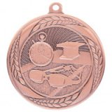 Typhoon Swimming Stamped Iron Medal Bronze 5.5CM 55MM - MM20453B