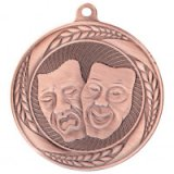 Typhoon Drama Stamped Iron Medal Bronze 5.5CM 55MM - MM20455B