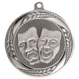Typhoon Drama Stamped Iron Medal Silver 5.5CM 55MM - MM20455S