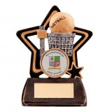 Little Star Netball Series Trophy 10.5CM (105MM) - RF1168A