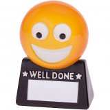 Smiler Well Done Fun Trophy 8.5CM 85MM - RF18072A